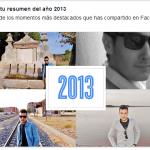 Haz tu resumen del año con Facebook