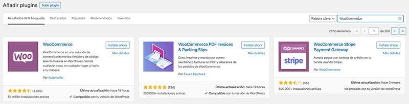 Instalar WooCommerce para crear tu tienda online en WordPress