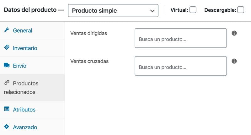 Crear una tienda online en WordPress: productos relacionados en WooCommerce