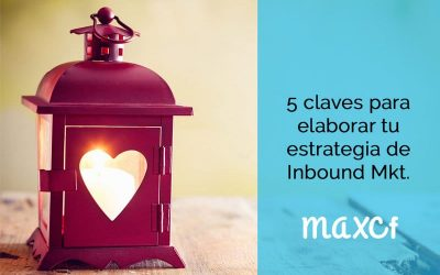 5 claves para elaborar tu estrategia de Inbound Marketing