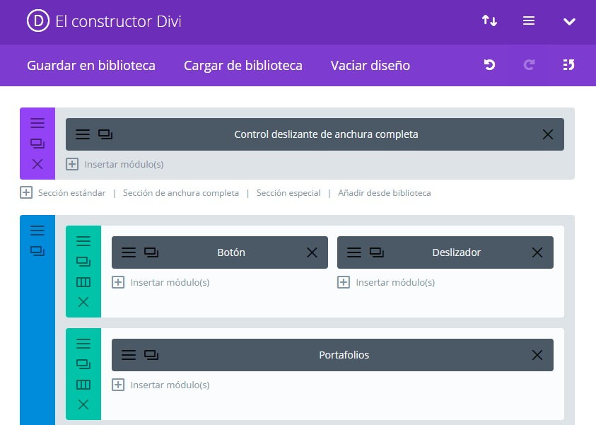Plantillas para WordPress: DIVI