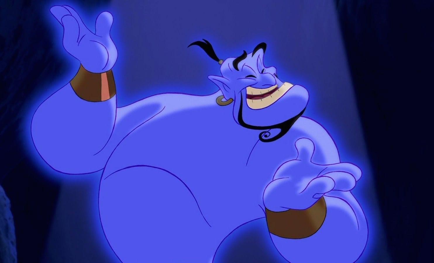 12 tipos de personas en el mundo del marketing online: el genio (Aladdin)