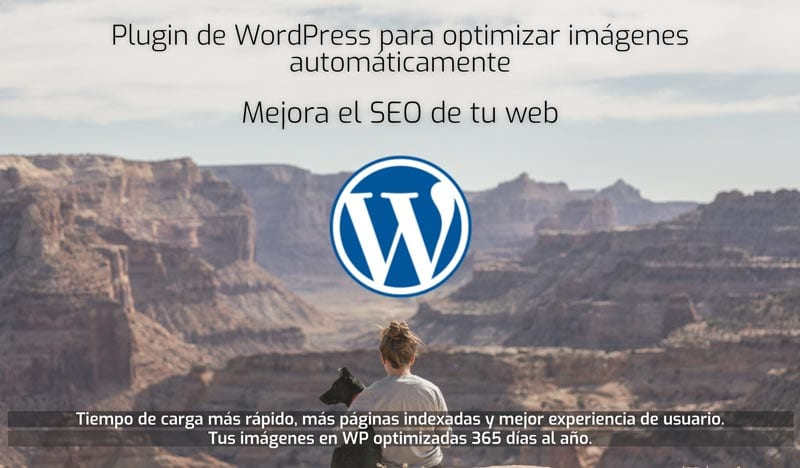 optimizar imágenes en WordPress: Optimizador.io