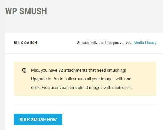 optimizar imágenes en WordPress: Smush