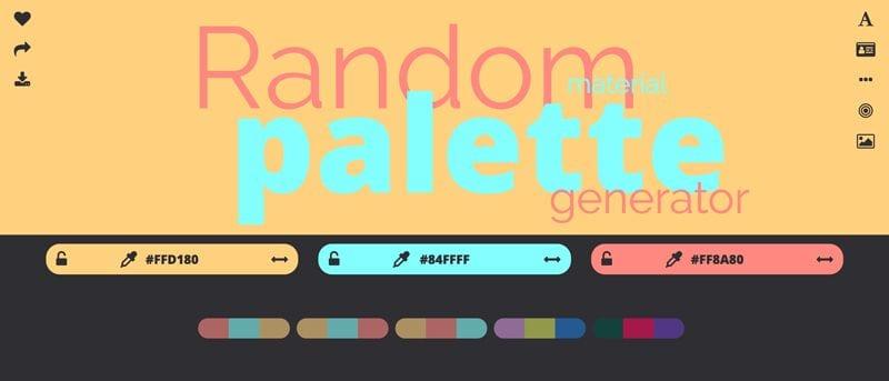 paletas de colores: Threebu