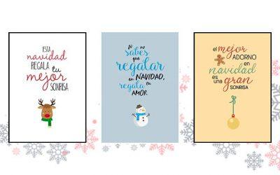 20 felicitaciones de Navidad creativas (gratis)