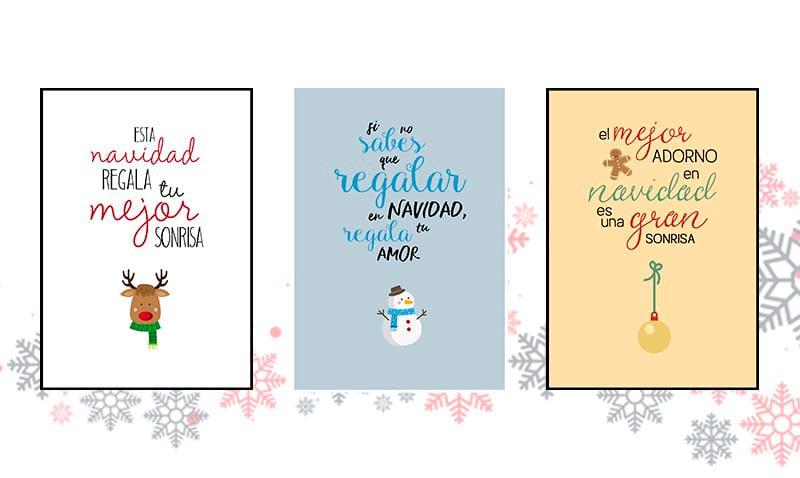 Creativos diseños para felicitar la Navidad (gratis)