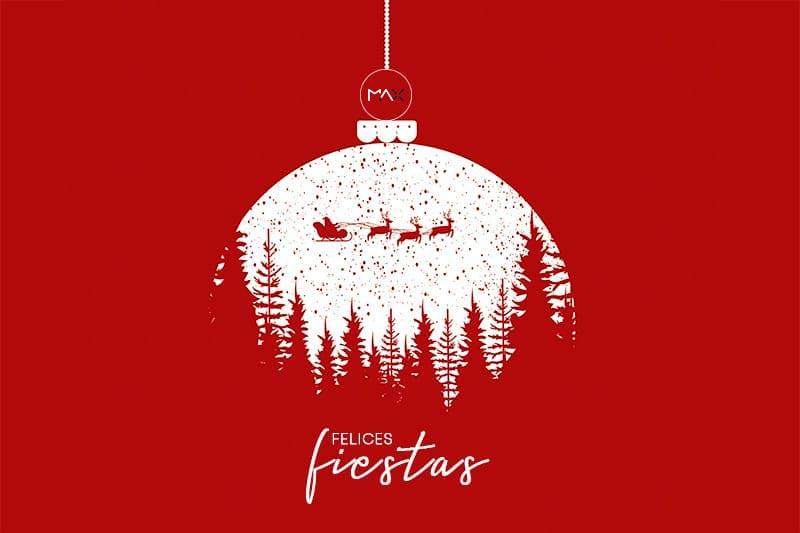 felicitaciones creativas navidad: felices fiestas
