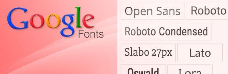 Tipografías para web: WP Google Fonts
