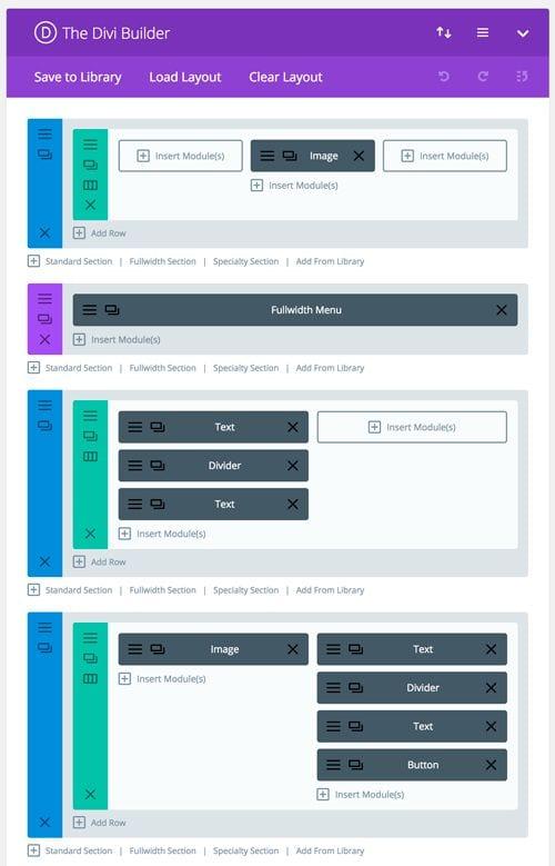 Crear una página web con Divi