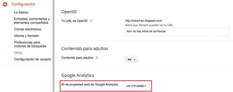 Cómo configurar Google Analytics en una web