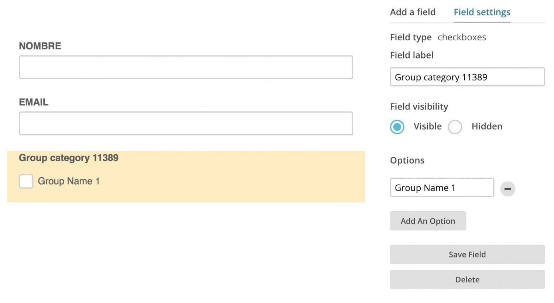 Crear un formulario de suscripción adaptado RGPD en Mailchimp