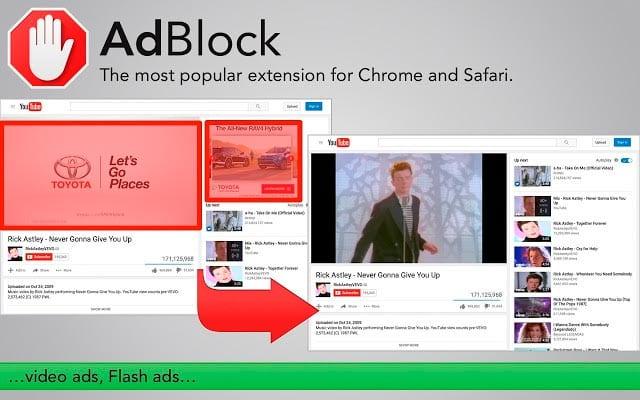 extensiones para Chrome: AdBlock