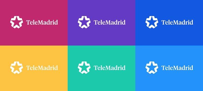 consejos para diseñar logotipos: TeleMadrid