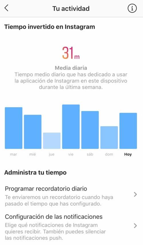 ¿Qué datos incluyen las estadísticas de Instagram?