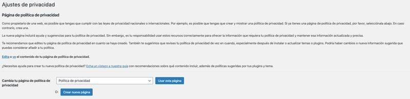 Cómo configurar WordPress como un profesional: ajustes de privacidad