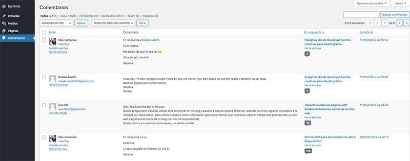 Cómo configurar WordPress como un profesional: comentarios