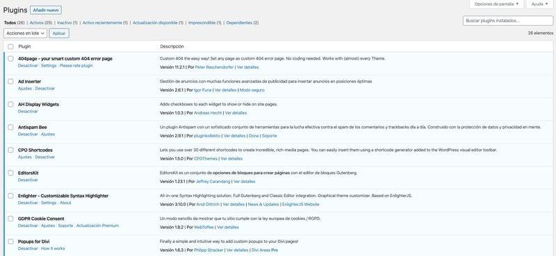 Cómo configurar WordPress como un profesional: plugins
