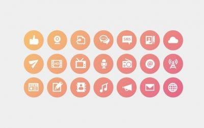 ★ ♡ 9 formas de agregar iconos web en tu diseño (también en Divi) ♛ ☾
