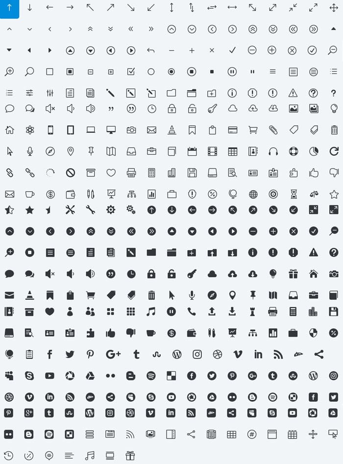 Cómo utilizar y agregar iconos web en tu diseño