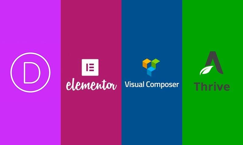 Maquetadores visuales para WordPress: Divi, Elementor, Visual Composer y Thrive Architect