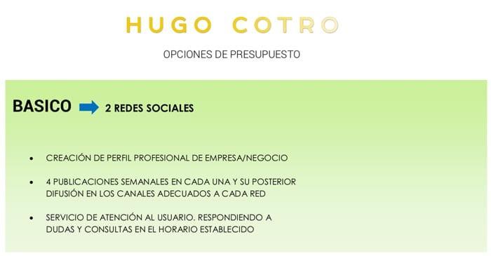 Cómo hacer un presupuesto: Hugo Cotro