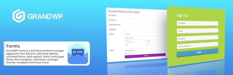 8 herramientas y plugins para crear formularios de contacto en WordPress: Easy Contact Form