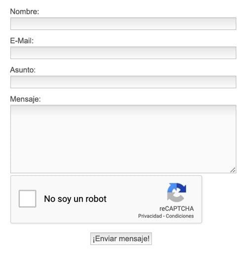 8 herramientas y plugins para crear formularios de contacto en WordPress: Foxyform
