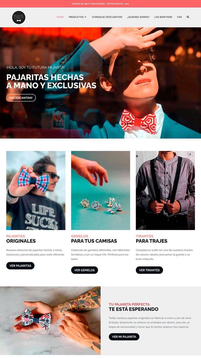 ejemplos de paginas web profesionales