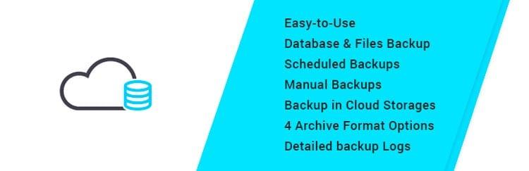 10 plugins para hacer una copia de seguridad en WordPress: Backup WD – Backup and Restore Plugin