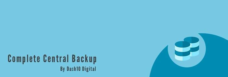10 plugins para hacer una copia de seguridad en WordPress: Complete Central Backup