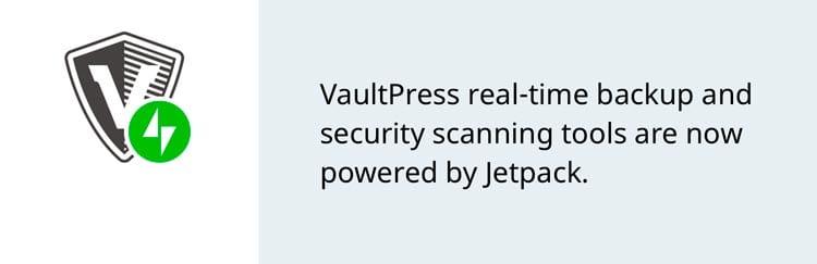 10 plugins para hacer una copia de seguridad en WordPress: VaultPress