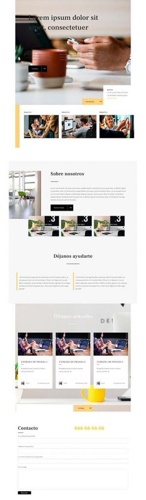 Maquetadores visuales para WordPress: Visual Composer