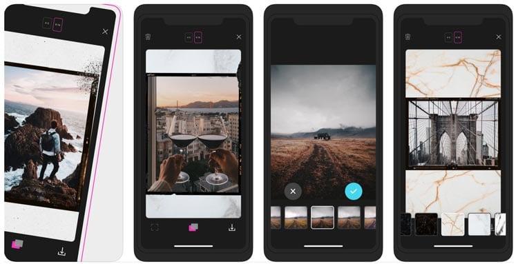 aplicaciones para Instagram: Storyluxe
