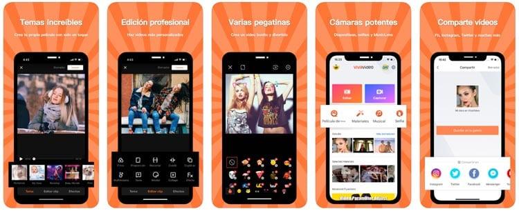 aplicaciones para Instagram: VivaVideo