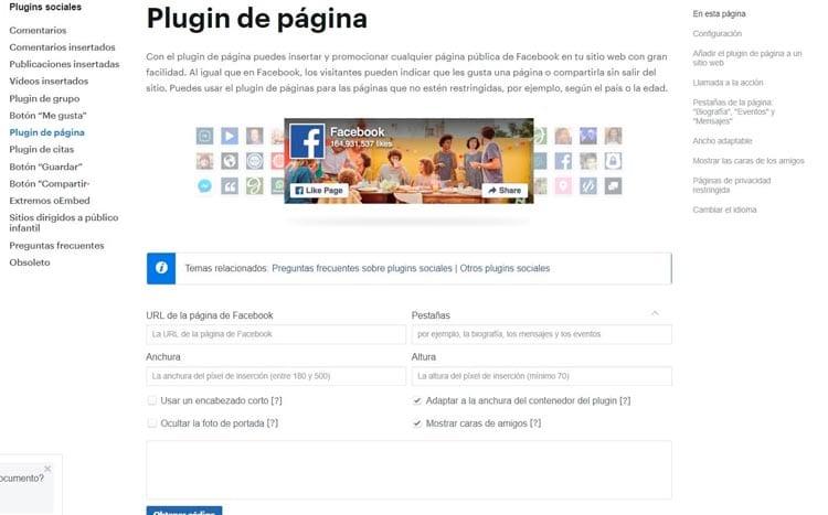 Cómo insertar el plugin de Facebook en tu web: developers