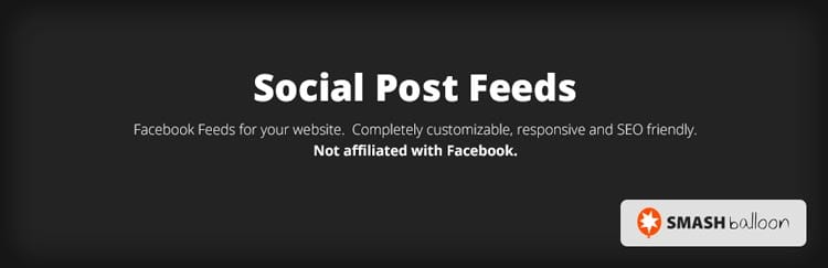 Cómo insertar el plugin de Facebook en tu web: Smash Balloon Social Post Feed