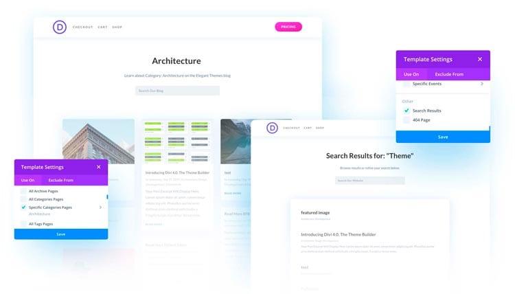 Divi Theme Builder: editar las categorías del blog