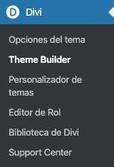 novedades de Divi 4.0: Divi Theme Builder