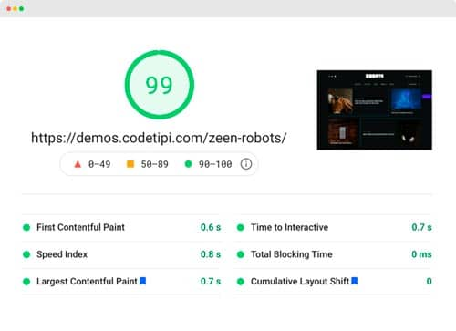 Las mejores plantillas WordPress premium: Zeen