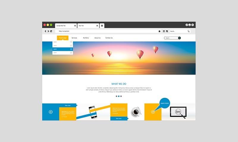 Consejos para diseñar un header efectivo en tu web