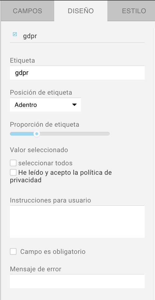 Cómo adaptar al RGPD tus formularios de suscripción con GetResponse