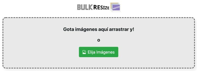 optimizar imágenes en WordPress: Bulk Resize