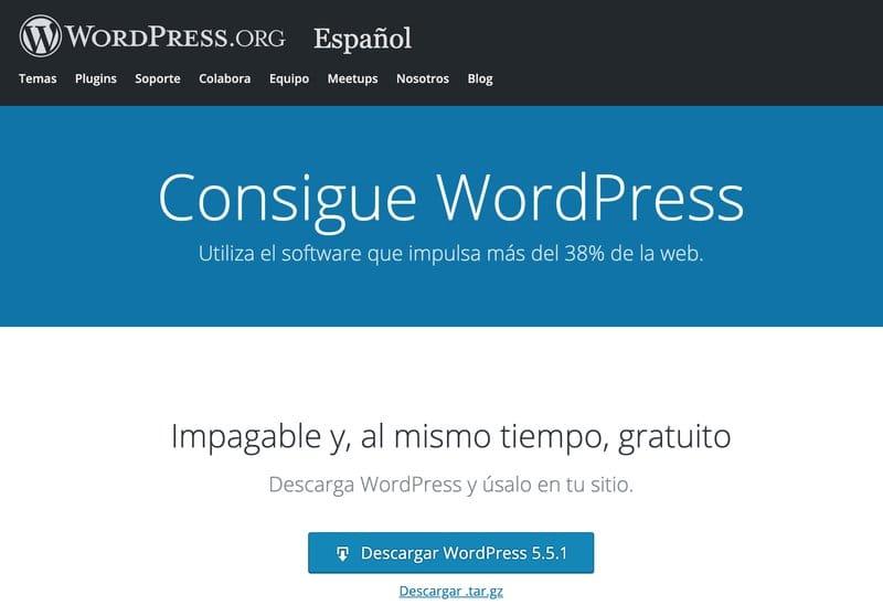 TUTORIAL: Cómo descargar e instalar WordPress