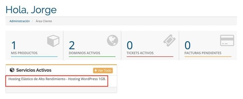 Instalar WordPress en Webempresa