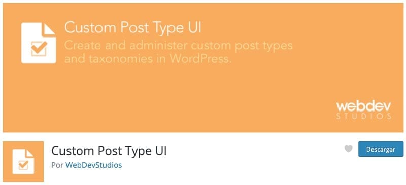 Cómo crear una membresía en WordPress: Custom Post Type UI