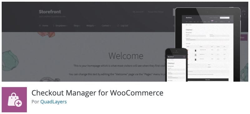 Personalizar página de pago o checkout de WooCommerce: plugin Checkout Manager for WooCommerce