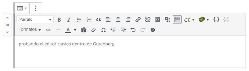 TRUCO para seguir usando el editor clásico de WordPress con Gutenberg