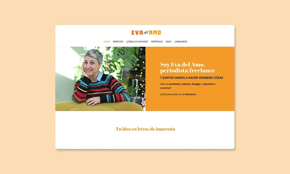 Eva Del Amo: periodista freelance