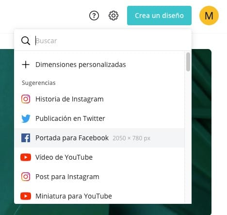 Cómo crear las cabeceras de tus redes sociales con Canva